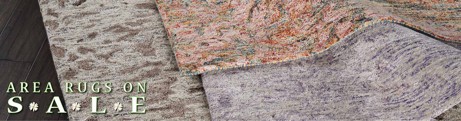 Save on area rugs during our Spring Fling sale