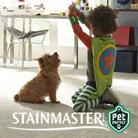 With STAINMASTER® PetProtect® carpet in your home, no room is off limits. Featuring built-in stain protection against even the most beastly pet stains - stop by our showroom to see our great selection!